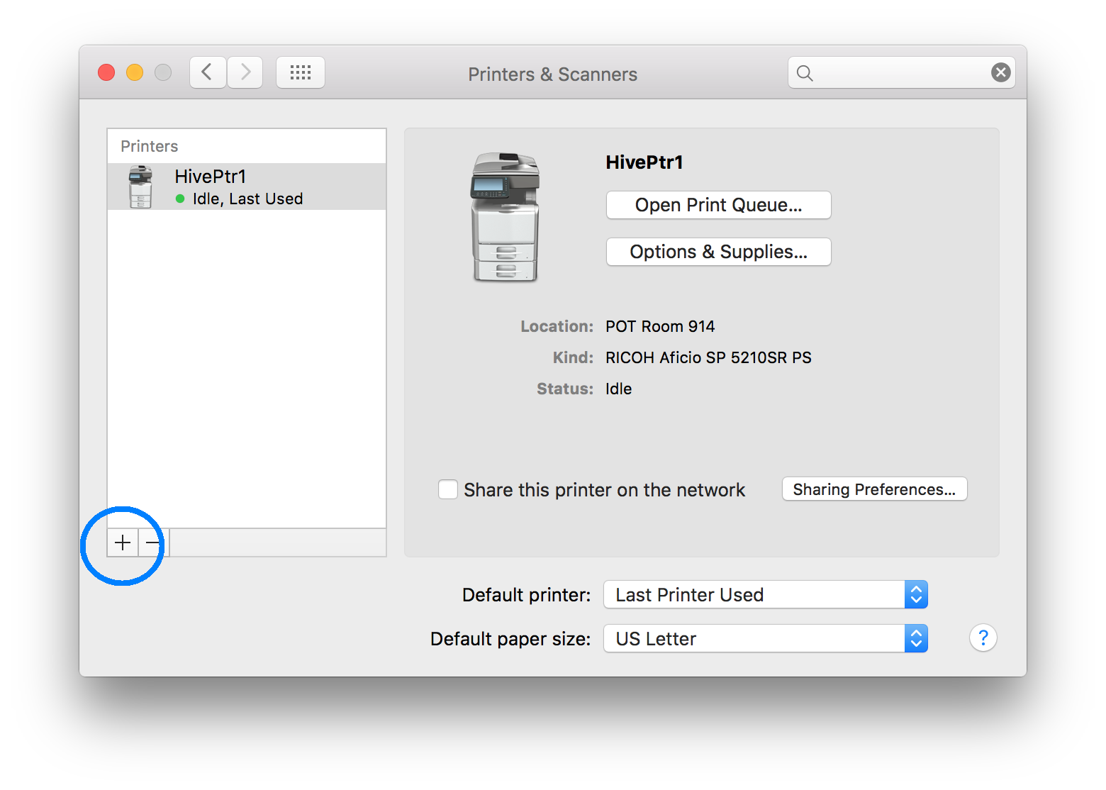 Configuring your Mac for printing to a Ricoh copier | Writing